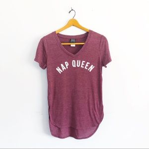 "Funny Womens T Shirt ""Nap Queen"""